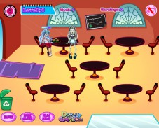 Игра Кафе в школе монстров онлайн