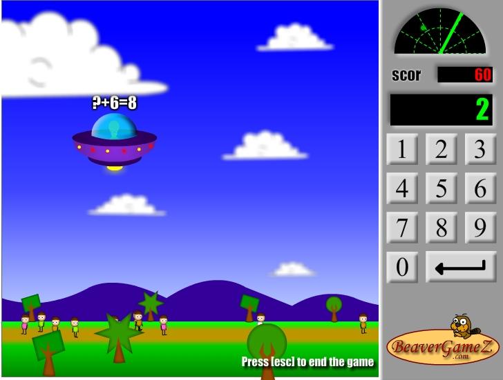 Игра Математические знания онлайн