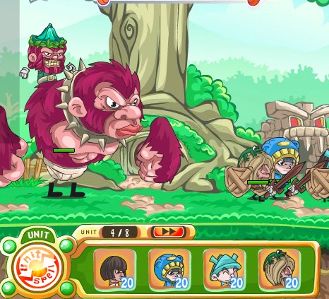 Игра Моя маленькая армия онлайн