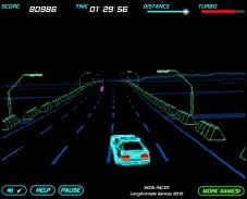 Игра Неоновая гонка онлайн