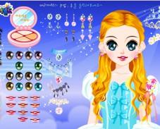 Игра Одевалка Золушка онлайн