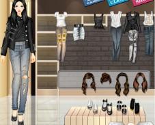Игра Одевалка всё о джинсах онлайн