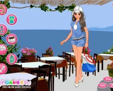 Игра Одевалка каникулы онлайн