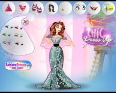 Игра Одевалка принцесса Барби онлайн