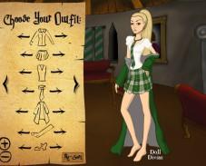 Игра Одевалка универ онлайн