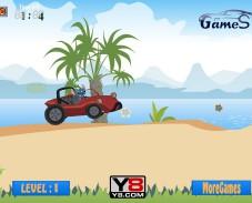 Игра Стич на гонке онлайн