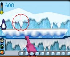 Игра Стрелялка по пингвинам онлайн