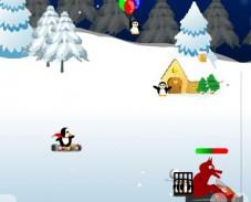 Игра Супер пингвины онлайн