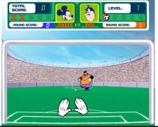 Игра Футбол с Микки Маусом онлайн