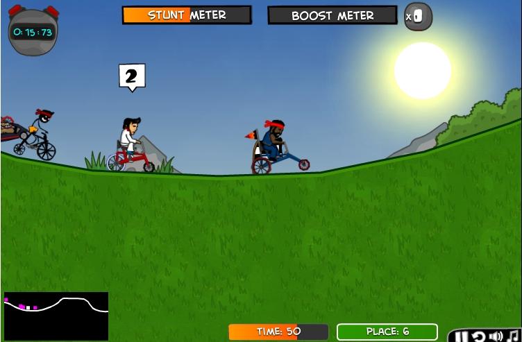 Игра ЦиклоМаньяки 2 онлайн