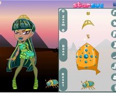 Игра Школа монстров чиби онлайн