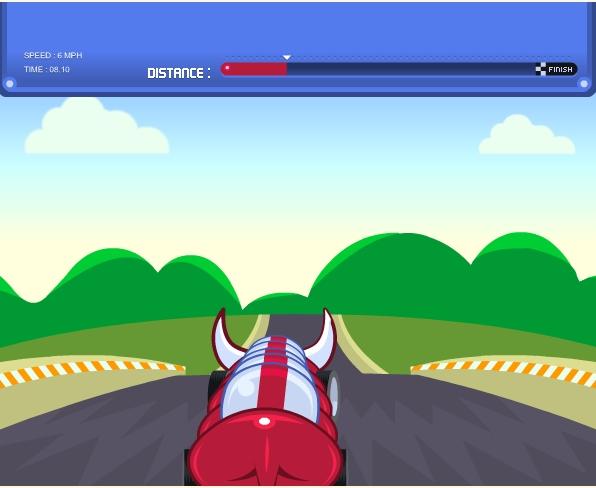 Игра Веселые гонки онлайн