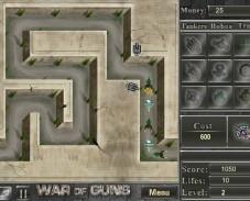 Игра Война Пушек онлайн