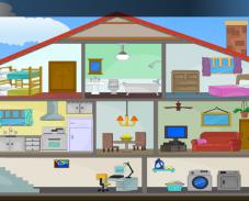 Игра Выход из дома 3 онлайн