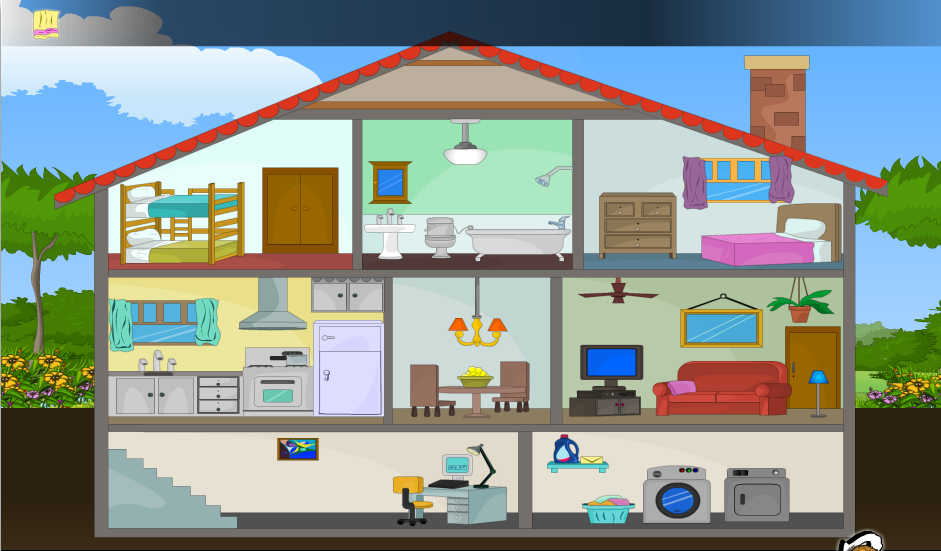 серого картинка трех этажного дома срисовать с комнатами разрабатывают методики, которые