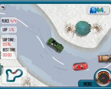 Игра ГТА: Зимняя погоня онлайн