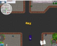 Игра ГТА Опасное такси онлайн