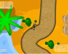 Игра Гонки в пустыне онлайн