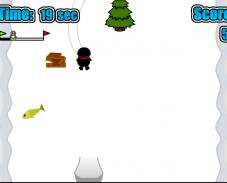 Игра Гонки на пингвине онлайн