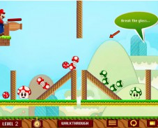 Игра Грибной Марио онлайн
