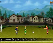 Игра Дворовой футбол онлайн
