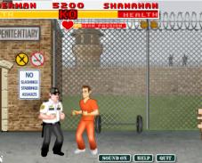 Игра Драка в тюрьме онлайн