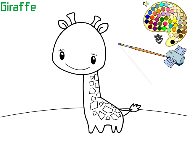 Игра Жирафик - играй онлайн