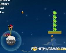 Игра Злые космические птицы онлайн