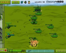 Игра Командуй и защищай онлайн