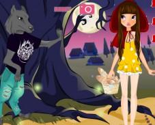 Игра Красная шапочка и волк онлайн