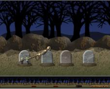 Игра Летающий скелет онлайн