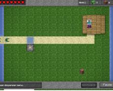 Игра Майнкрафт защитные башни онлайн