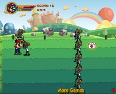 Игра Марио против зомби онлайн