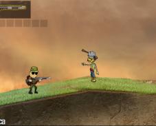 Игра Массовое уничтожение зомби онлайн