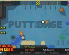 Игра Мяч в лунке онлайн