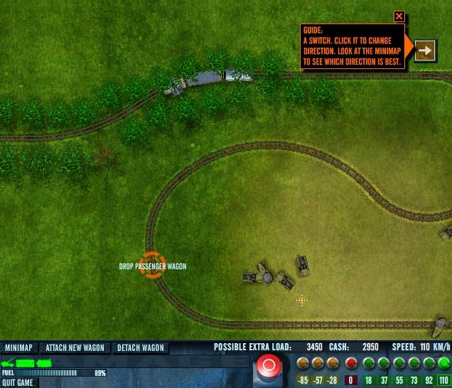 Игра На рельсах онлайн