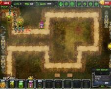 Игра Оборона Зомби онлайн