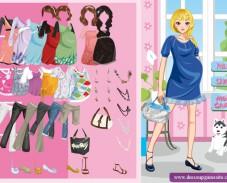 Игра Одевалка беременная мода онлайн