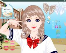 Игра Одевалка одеться в школу онлайн