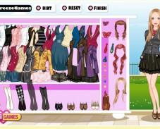 Игра Одевалка снова в школу онлайн