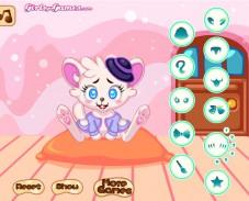 Игра Одевалка хомяк онлайн