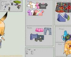 Игра Одевалка чиби Дейдара онлайн