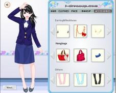 Игра Одевалка школьные дни онлайн
