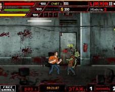 Игра Сердитые зомби онлайн