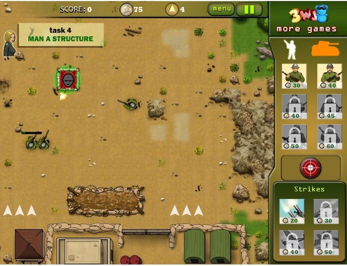 Игра Фронт онлайн
