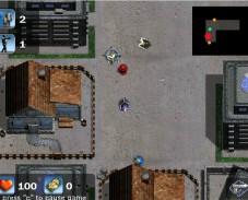Игра Штурм зомби онлайн