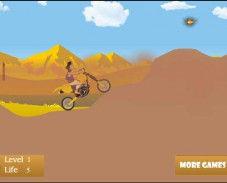 Игра Алладин мотогонщик онлайн
