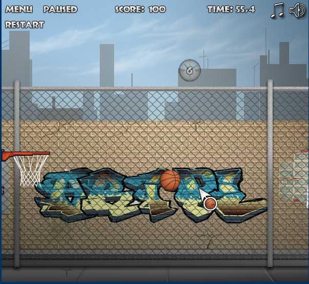 Игра Баскетбольный Бомбардир онлайн