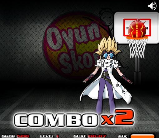 Игра Баскетбол Бакуган онлайн