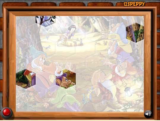 Игра Белоснежка и гномы онлайн